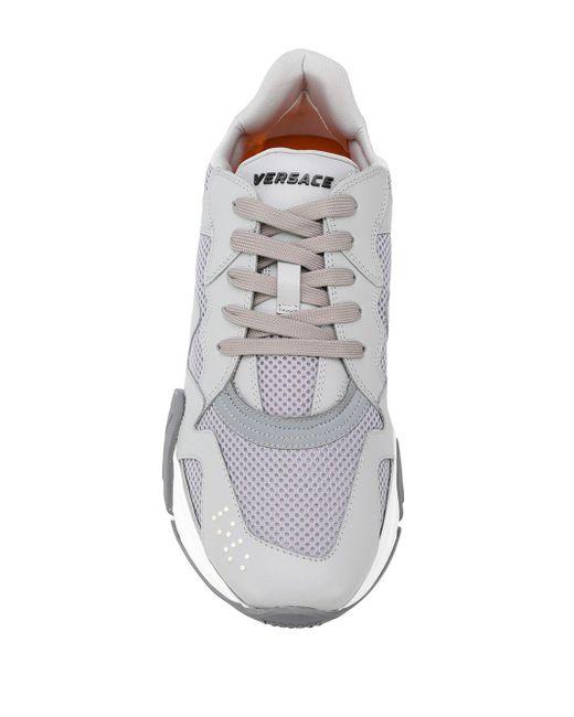 Кроссовки Squalo Versace для него, цвет: Gray