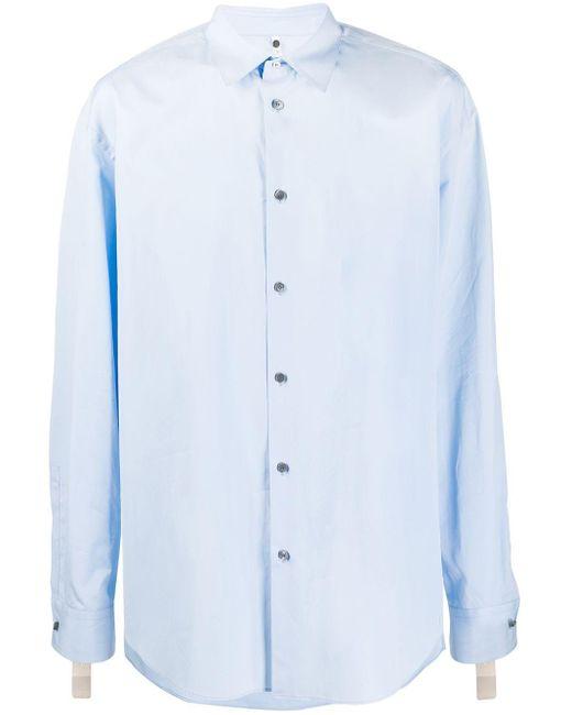 メンズ OAMC ロングスリーブ シャツ Blue