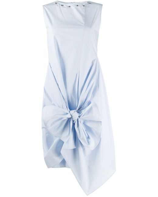 J.W. Anderson リボン ドレス Blue