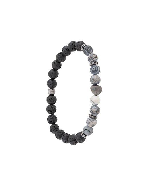 Tateossian Black Nugget Bracelet