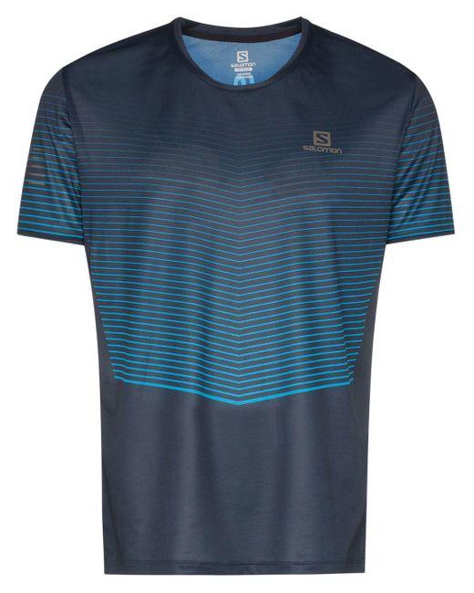 メンズ Salomon S/Lab Sense Tシャツ Blue