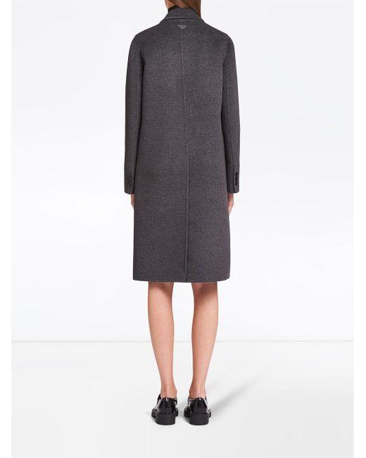 Prada シングルコート Gray