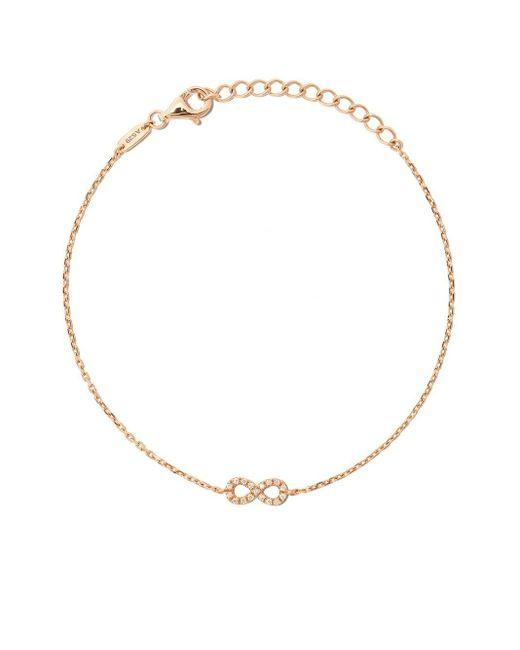 AS29 Miami Infinity ダイヤモンド ブレスレット 18kローズゴールド Metallic