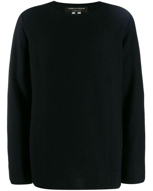 メンズ Comme des Garçons ロングスリーブ セーター Black