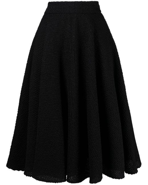Gonna a vita alta di Dolce & Gabbana in Black