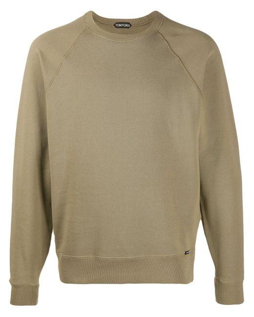 メンズ Tom Ford ラグランスリーブ スウェットシャツ Multicolor