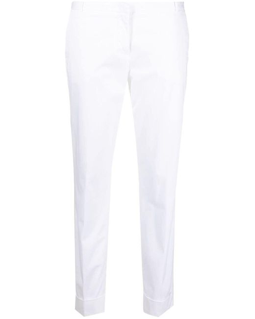 Узкие Брюки Строгого Кроя Fabiana Filippi, цвет: White