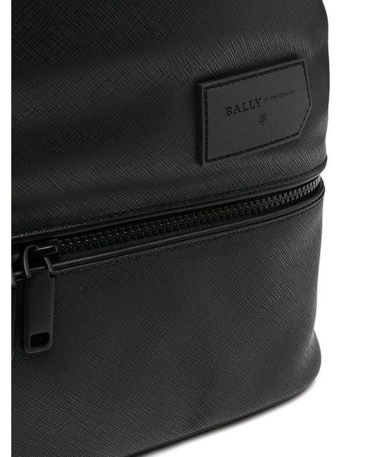 Рюкзак С Контрастной Полоской Bally для него, цвет: Black