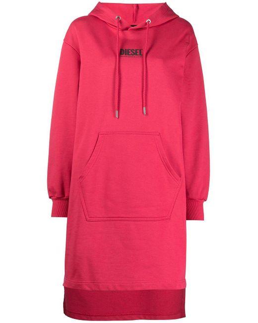 DIESEL D-ilse-smallogo ドレス Pink