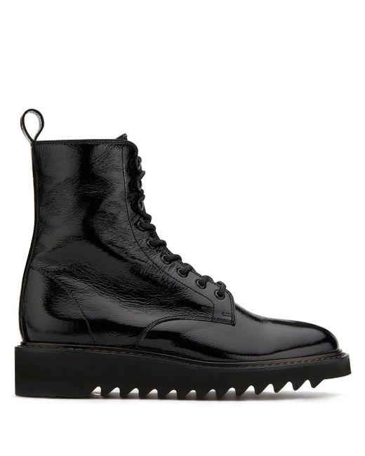 メンズ Giuseppe Zanotti New York グリッターブーツ Black