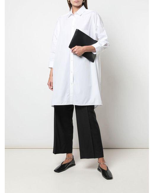 Jil Sander Sunday オーバーサイズ シャツ White