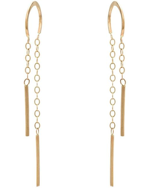 Melissa Joy Manning - Metallic Horseshoe Chain Earrings - Lyst