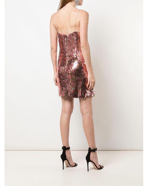 Alice + Olivia スパンコール ドレス Pink