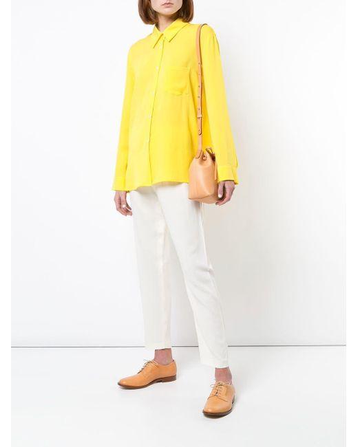 Сумка-мешок Mansur Gavriel, цвет: Multicolor