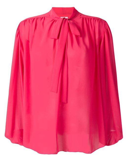 Giamba ボウタイ ブラウス Pink