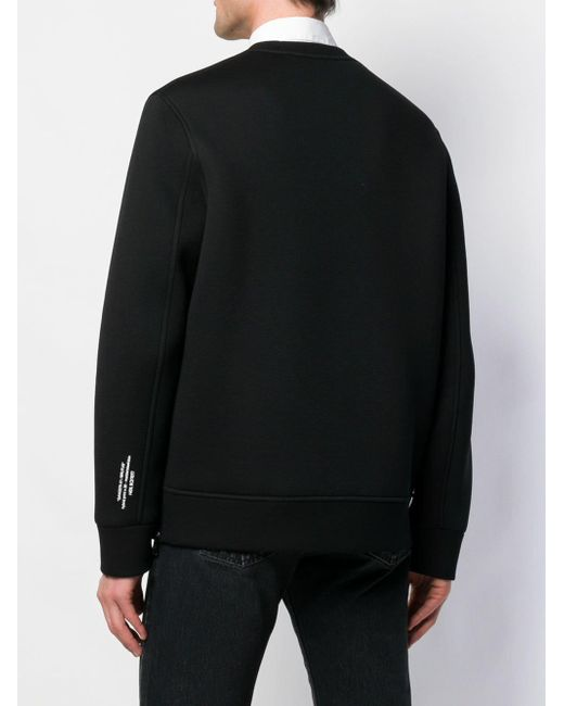 Neil Barrett 'Gangsta Brutus' Sweatshirt in Black für Herren