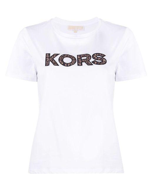 MICHAEL Michael Kors プリント Tシャツ White