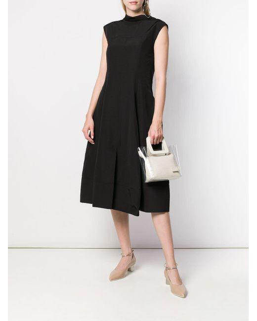 Jil Sander パフスカート ドレス Black