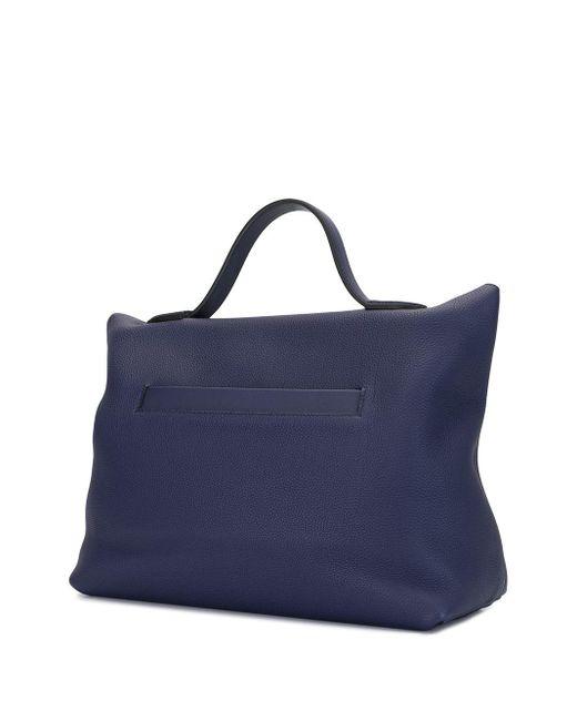 Hermès 2019 サック ヴァンキャトル 35 ハンドバッグ Blue