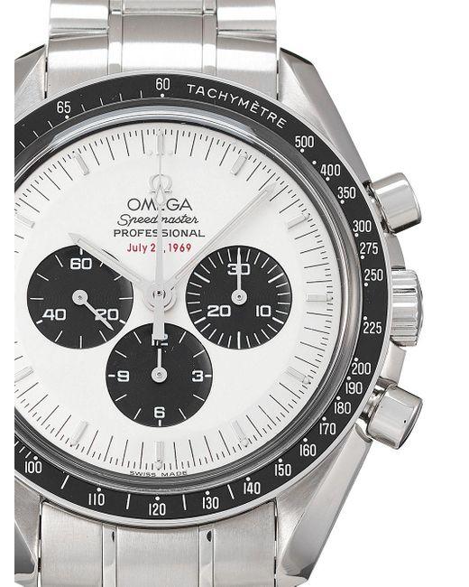Наручные Часы Speedmaster Pre-owned 42 Мм 2005-го Года Omega для него, цвет: White