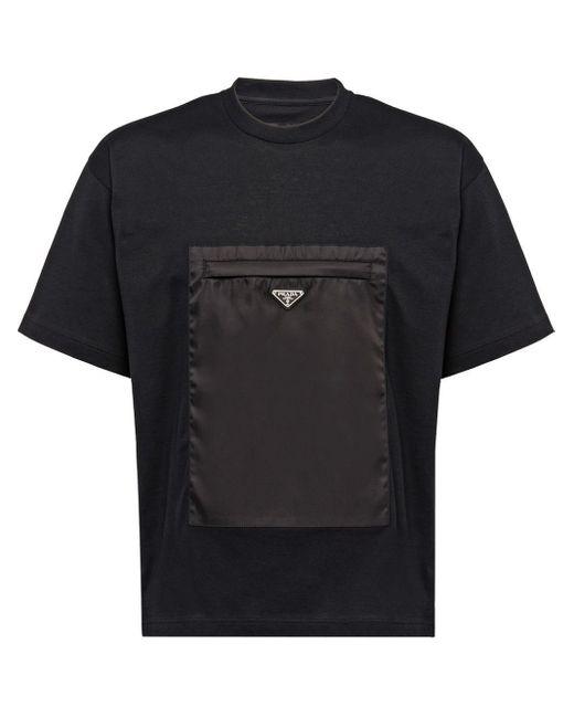 メンズ Prada ポケット Tシャツ Black