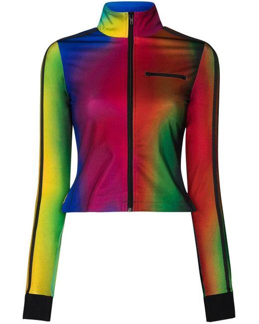 Adidas X Paolina Russo トラックジャケット Multicolor