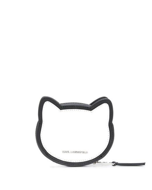 Karl Lagerfeld K/ikonik Choupette コインケース Black