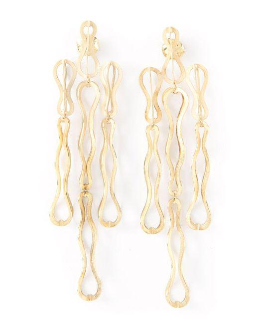 Antonio Bernardo Metallic 'fertil' Earrings