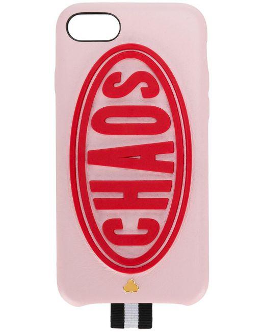 Chaos Daytona Iphone 8 ケース Red