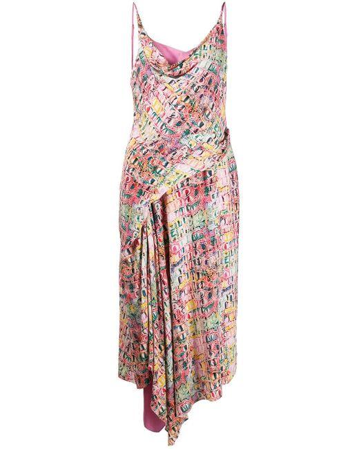 Sies Marjan Farrah プリント ドレス Multicolor