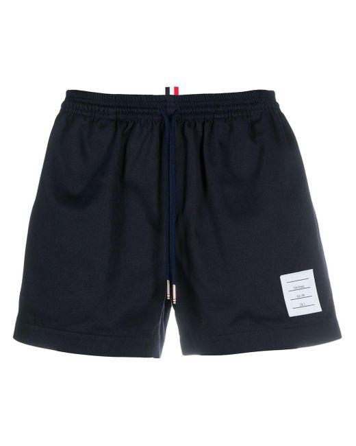Shorts con coulisse di Thom Browne in Blue da Uomo