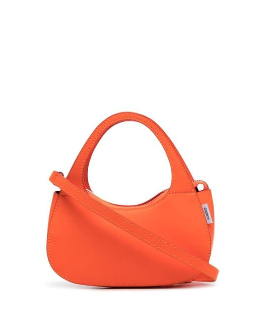 Coperni Swipe レザーバッグ マイクロ Orange