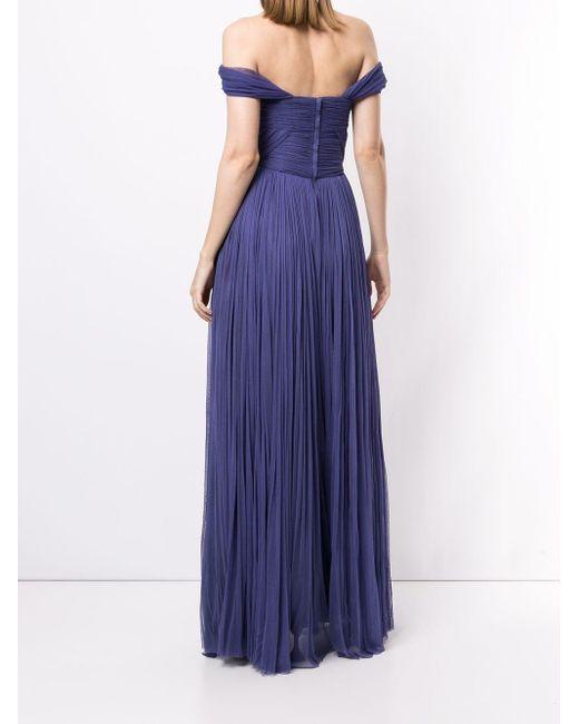 Вечернее Платье Со Сборками Dolce & Gabbana, цвет: Purple