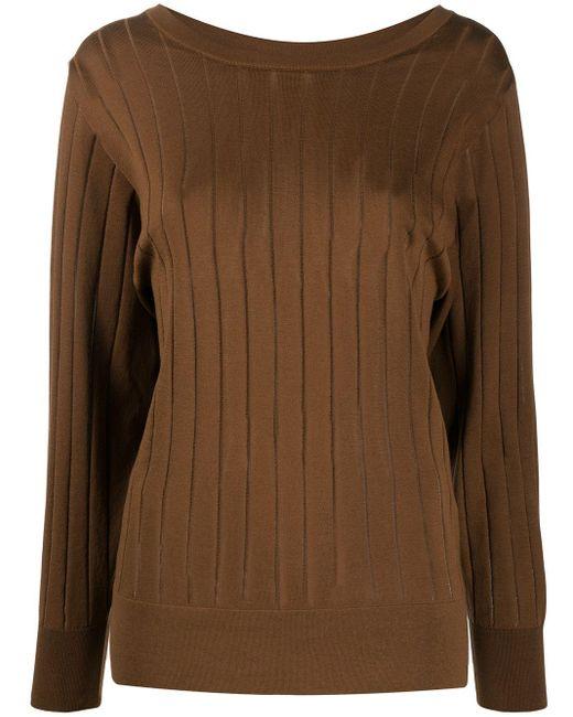 Agnona リブ セーター Multicolor