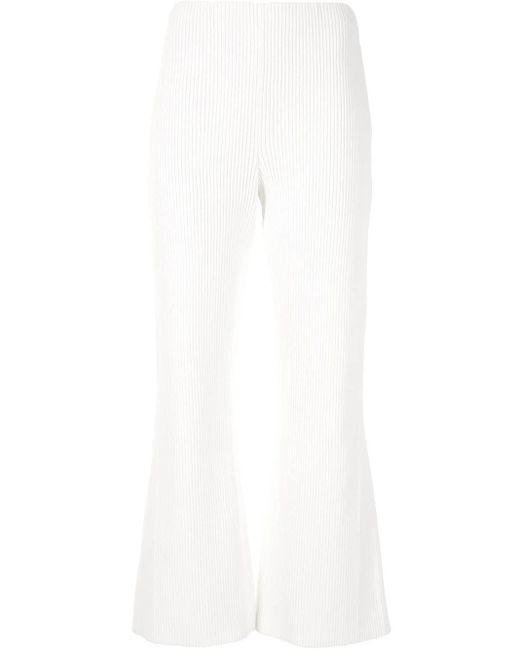 Кюлоты В Рубчик Proenza Schouler, цвет: White