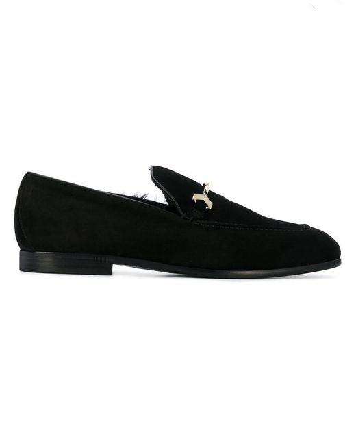 522d22a8454 Jimmy Choo - Black Marti Loafers for Men - Lyst ...