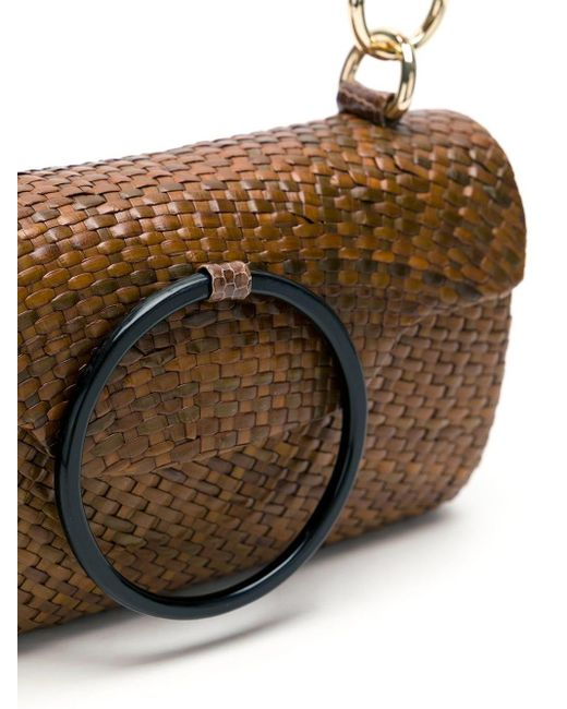Соломенная Сумка Serpui, цвет: Brown