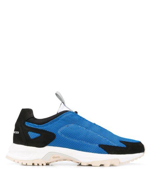 Filling Pieces Zapatillas bajas con lengüeta de hombre de color azul