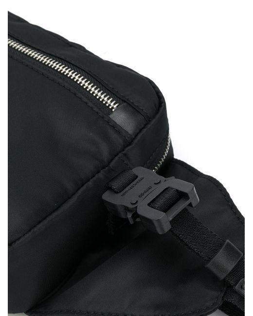 1017 ALYX 9SM ローラーコースターバックル ベルトバッグ Black
