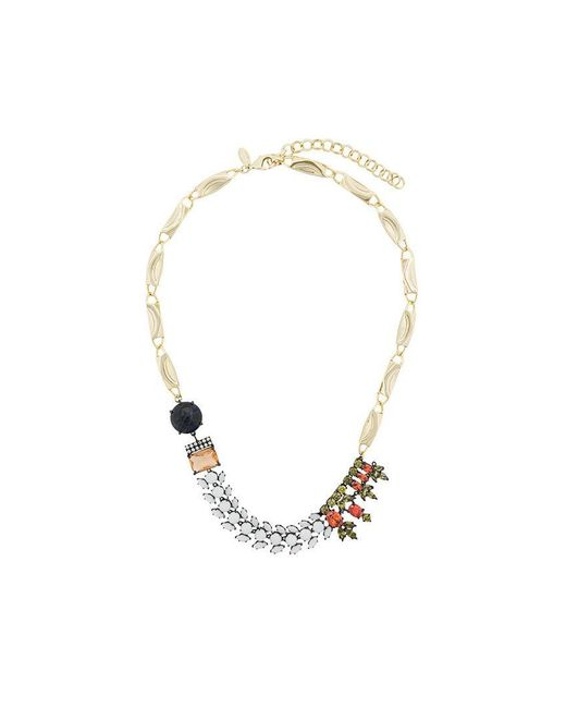 Iosselliani - Metallic Club Africana Necklace - Lyst