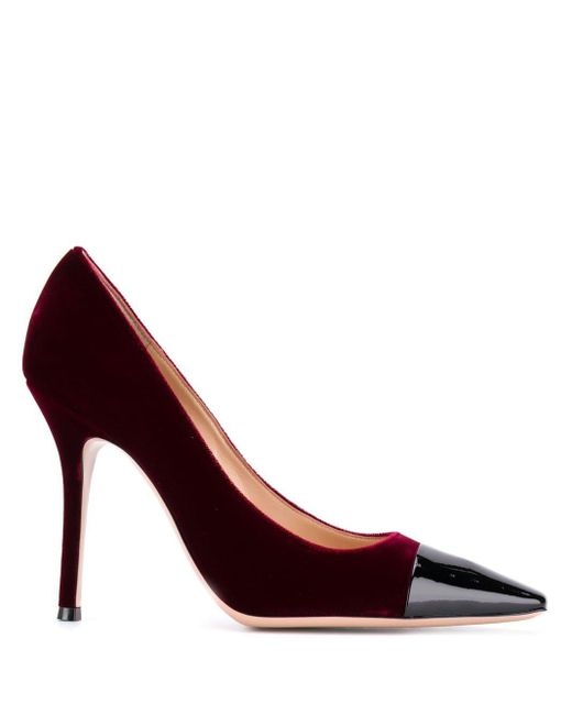Gianvito Rossi Lucy パンプス Red