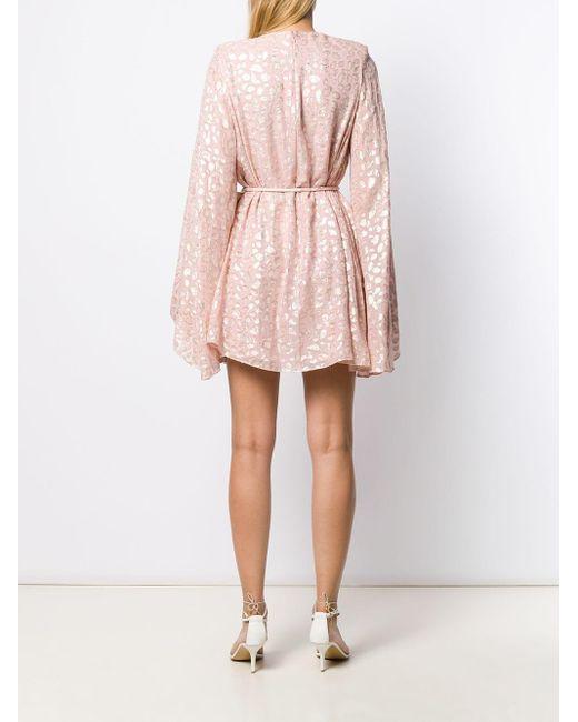 Stella McCartney アニマルプリント ドレス Pink