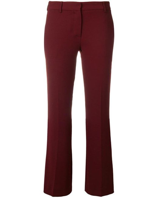 L'Autre Chose - Cropped Tailored Trousers - Lyst