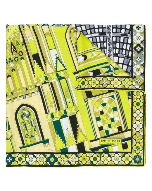 Emilio Pucci プリントスカーフ Multicolor