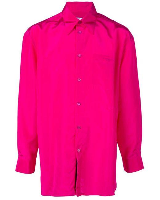メンズ Givenchy オーバーサイズ シャツ Pink
