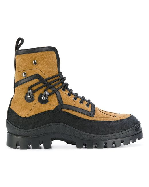 DSquared² - Multicolor Shearling Lined Boots for Men - Lyst