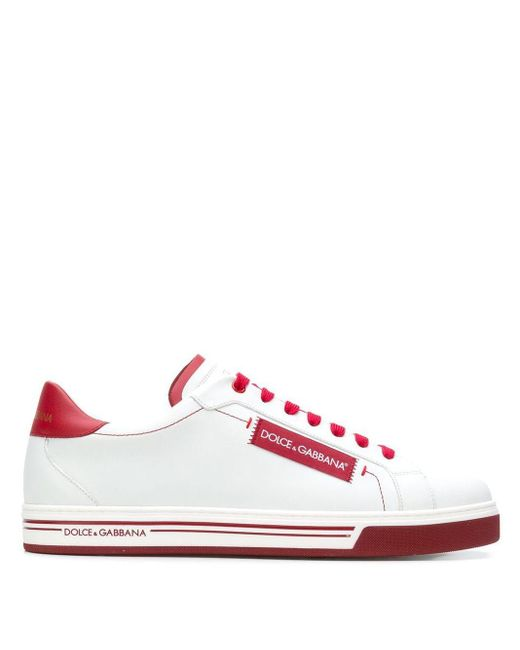 Кроссовки 'roma' Dolce & Gabbana для него, цвет: White