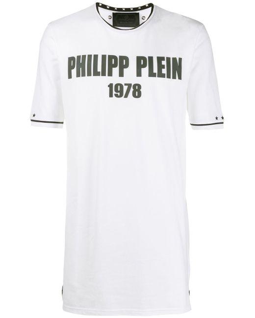 メンズ Philipp Plein ラウンドネック Tシャツ White