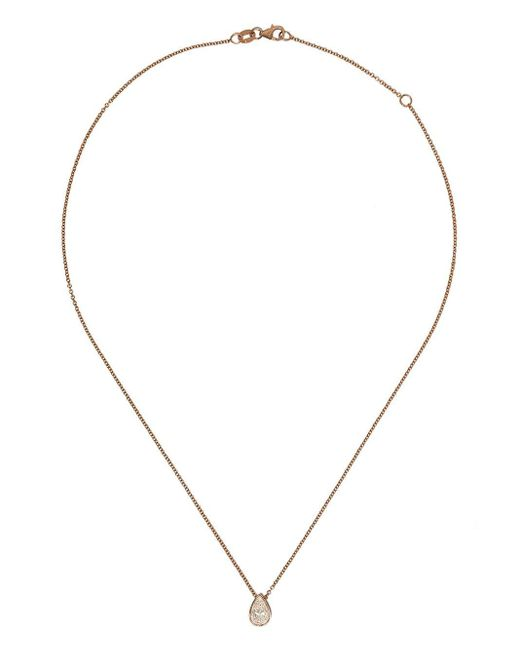 SHAY ダイヤモンド ネックレス 18kローズゴールド Metallic