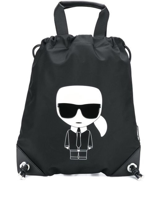 Karl Lagerfeld Ikonik Karl バックパック Black